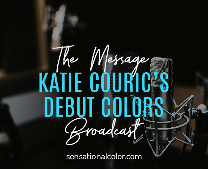 Katie Couric Colors