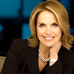 Katie Couric in Black & White
