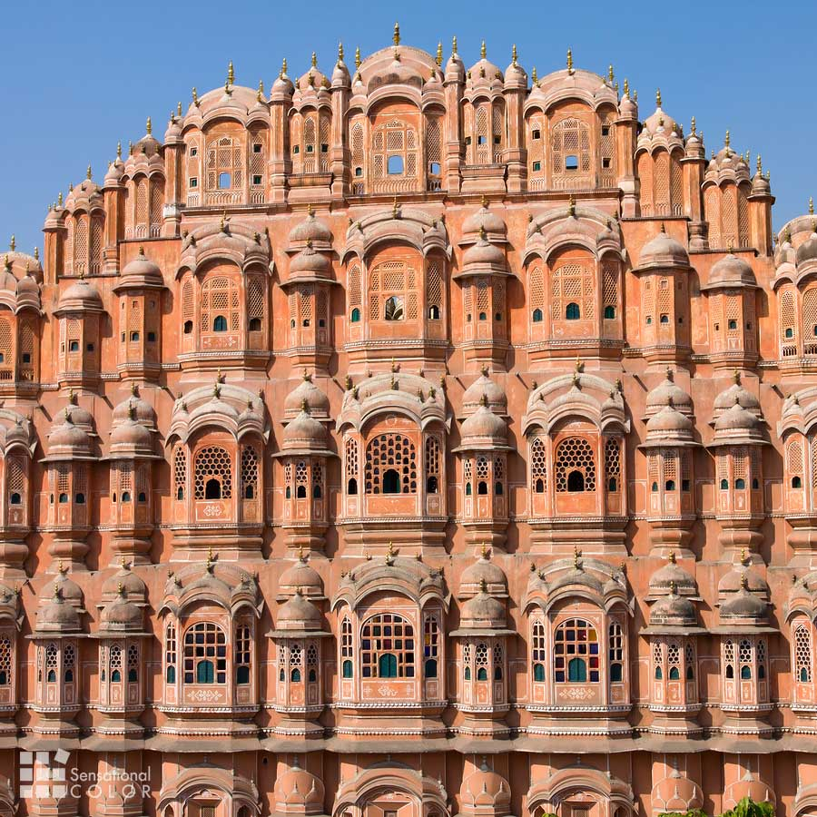 Hawa Mahal the Palace of Winds in Jaipur Rajasthan India