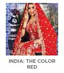 India | The Color Red — Simplicity, Purity and Candor