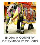 India | A Country of Symbolic Colors