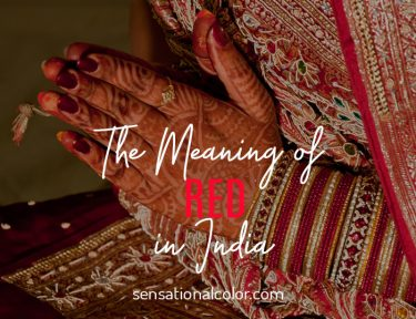 Red Meaning India