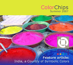 India -- A Country of Symbolic Colors