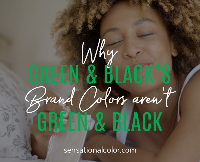 Green Black Brand Colors