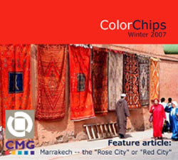 Africa | Marrakesh, Morocco The Rose City Or Red City - Colorchips 2007