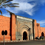 Africa | Marrakesh, Morocco The Rose City Or Red City