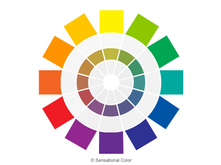 Get To Know The Color Wheel - Tone