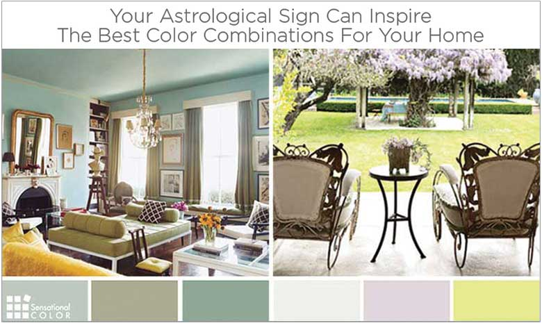 are the best color combinations for your home written in the stars