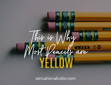 Why Most Pencils are Yellow