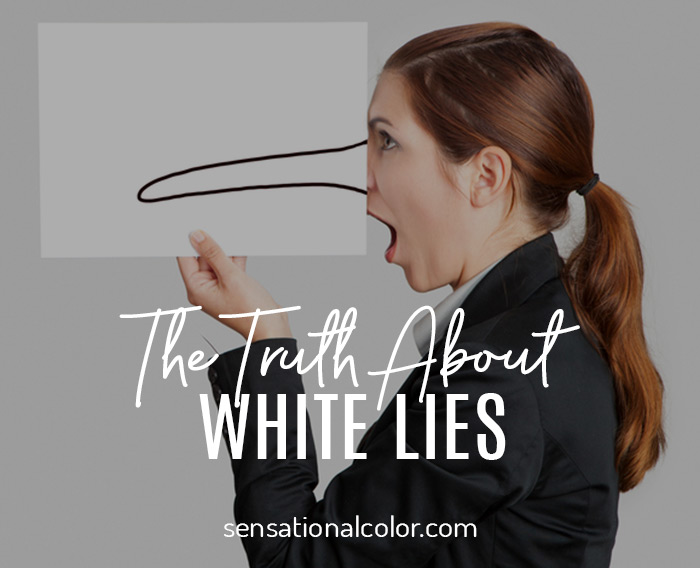 The Truth About White Lies