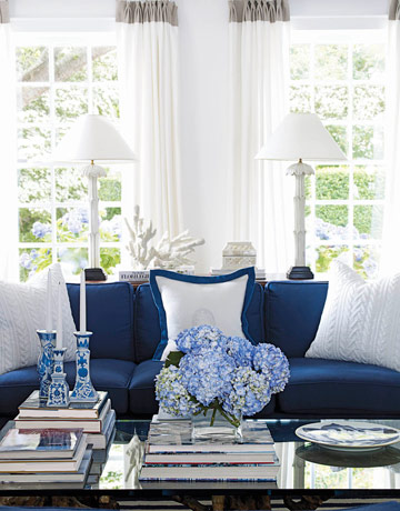 Blue And White Color Scheme