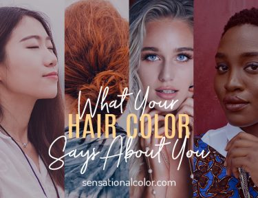 What Your Hair Color Says About Your
