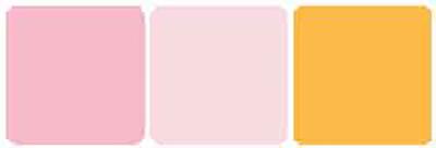 color scheme pink orange palette