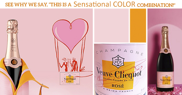 Veuve Clicquot Color Combination