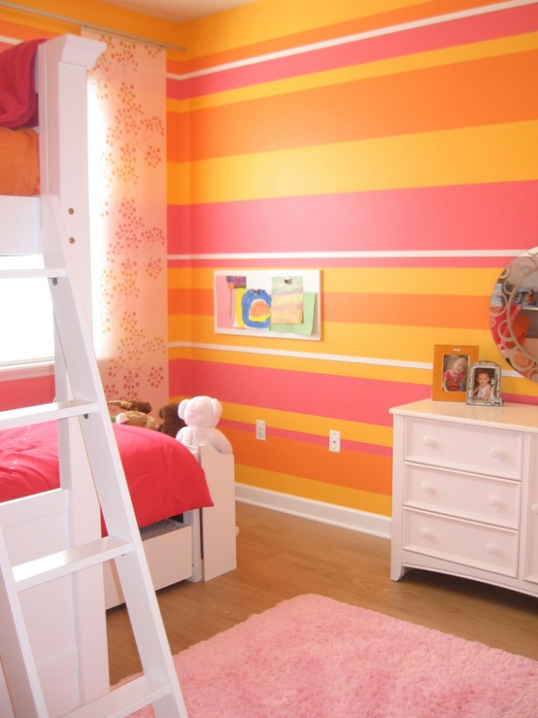 color scheme pink orange