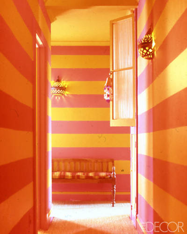 color scheme pink orange