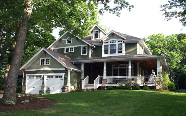 Home Exterior Color Green