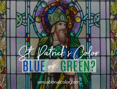 St. Patrick's Color - Is it green or blue?