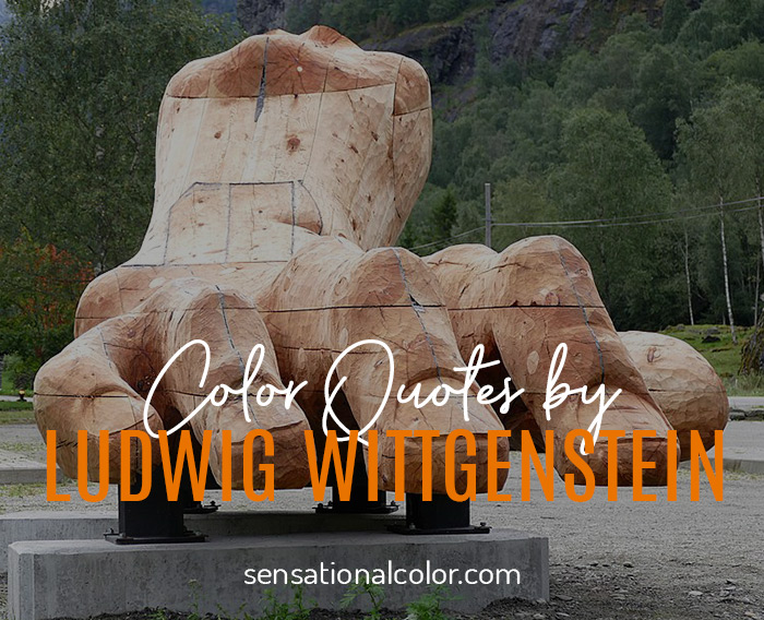 Color Quotes by Ludwig Wittgenstein