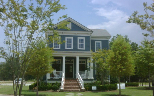 Home Exterior Color Blue