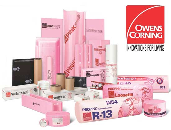 Owens Corning In The Pink