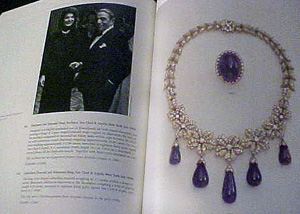 Birthstone for February: Papelring - Amethyst Kennedy Necklace - Southeby