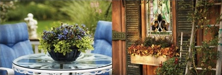 Warm colors versus cool colors in your outdoor living space