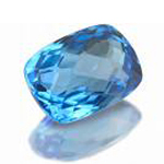 Birthstone for December: Blue Topaz