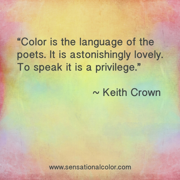 Keith Crown Color Quote