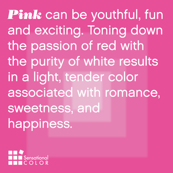 Meaning Of The Color Pink Sensational Color