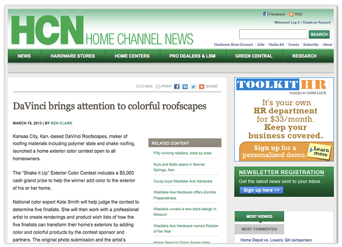Home Channel News