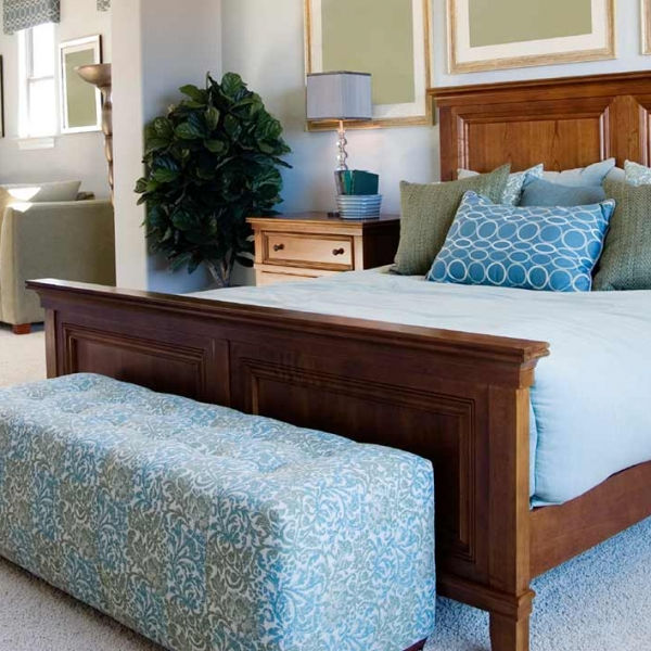 Create a calming and peaceful environment with color master bedroom