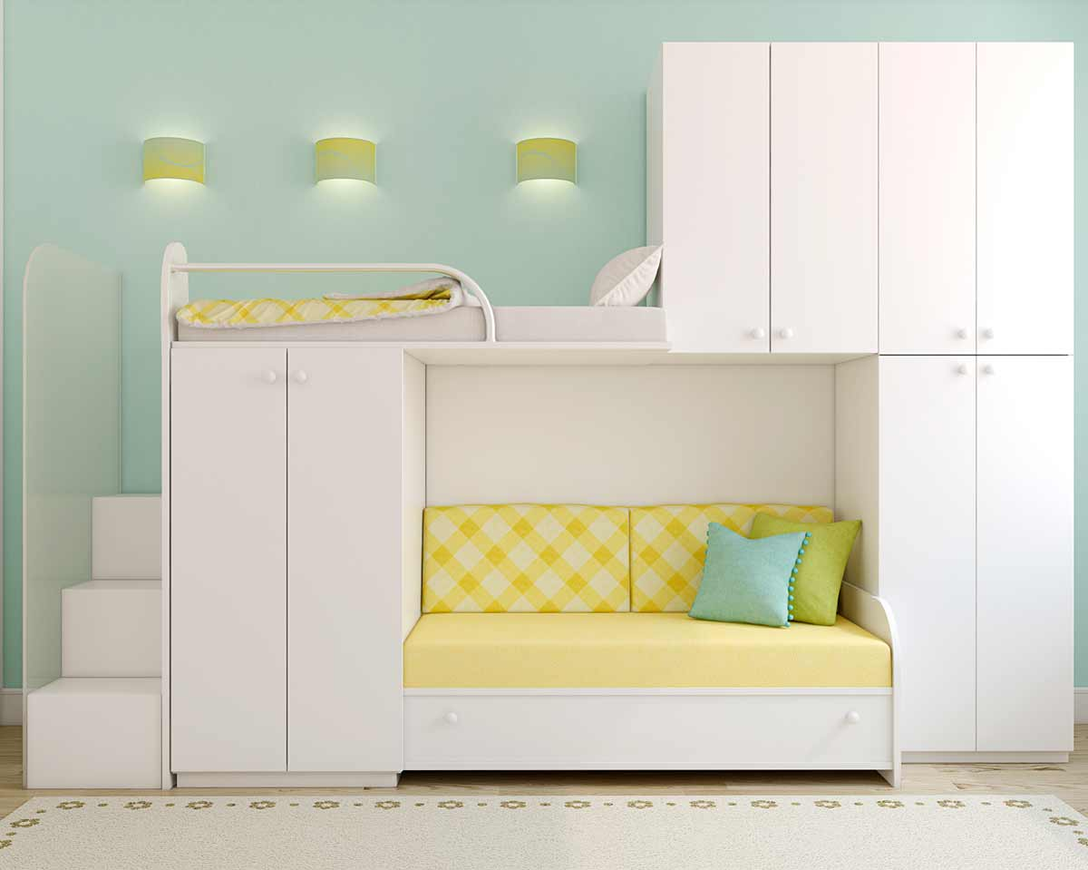 aqua blue and yellow are a fresh combination calming office colors