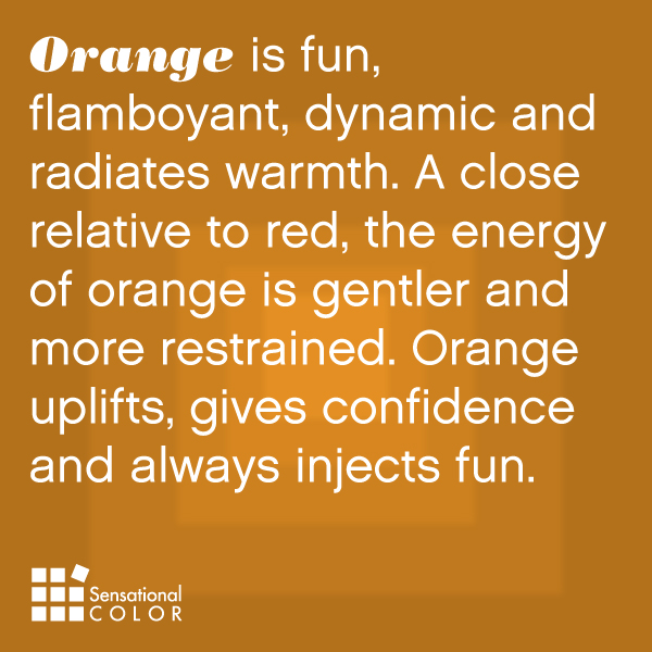 Meaning Of The Color Orange Sensational Color