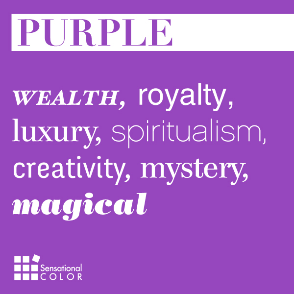 Words That Describe Purple