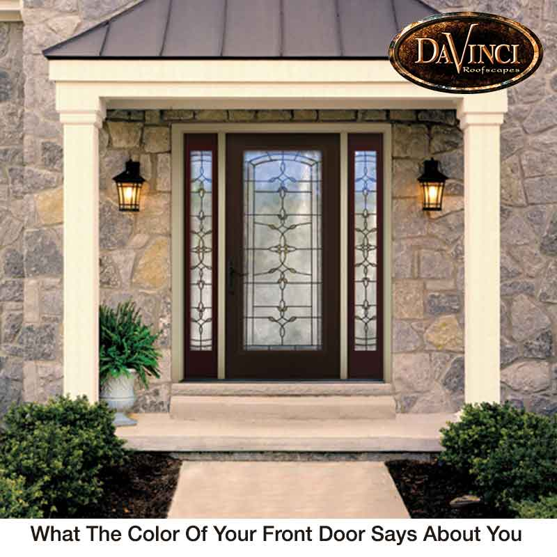 What The Color Of Your Front Door Says About You - Sensational Color