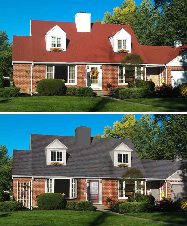 "Before & After Home Makeover: Philip Atkins of Lima, Ohio ""Shake it Up"" Exterior Color Contest Finalist"