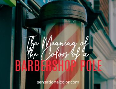 The Meaning of the Colors of a Barbershop Pole