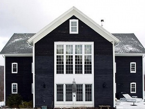 speak out loud when you paint exterior black elements of the home