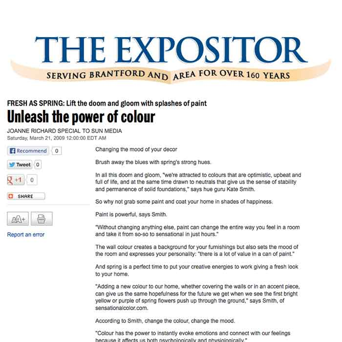Unleash the Power of Colour in The Expositor