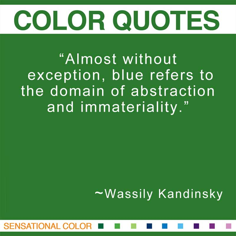 Quotes About Color by Wassily Kandinsky | Sensational Color