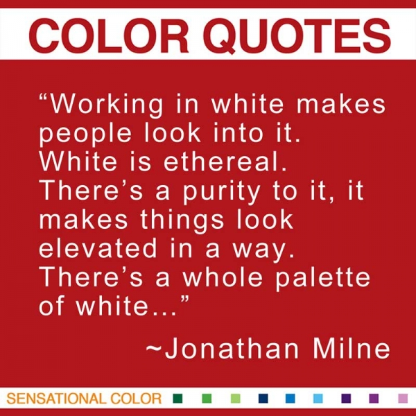 Quotes About Color By Jonathan Milne