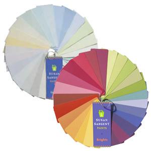 Susan Sargent Paint Color Palettes
