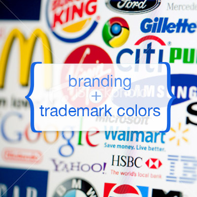 Branding and Trademark colors