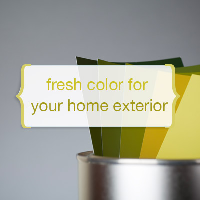 Fresh Color For Your Home Exterios