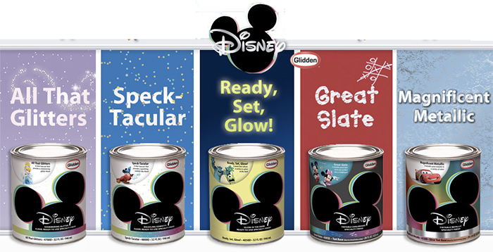 Disney Paint By Glidden Paint
