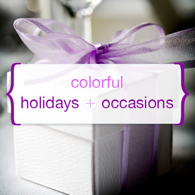 HolIday and Special Occasions Colors