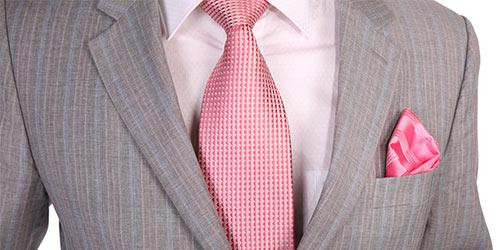 Men Wearing Pink