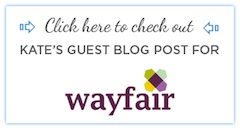 Click here to read Kate Smith's Guest Post on Wayfair.com 'My Way Home' Blog