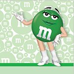 Green m&m's